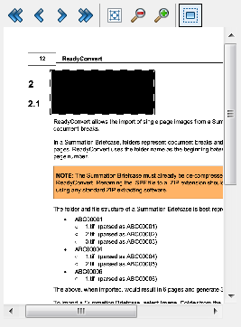 Redaction Preview