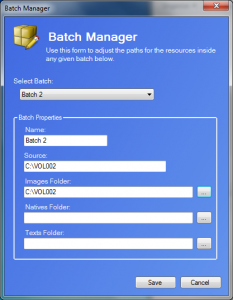 Batch Manager