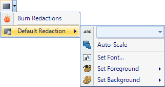 Image Viewer - Redaction Options